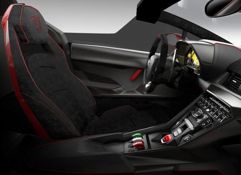 Lamborghini Veneno cabin