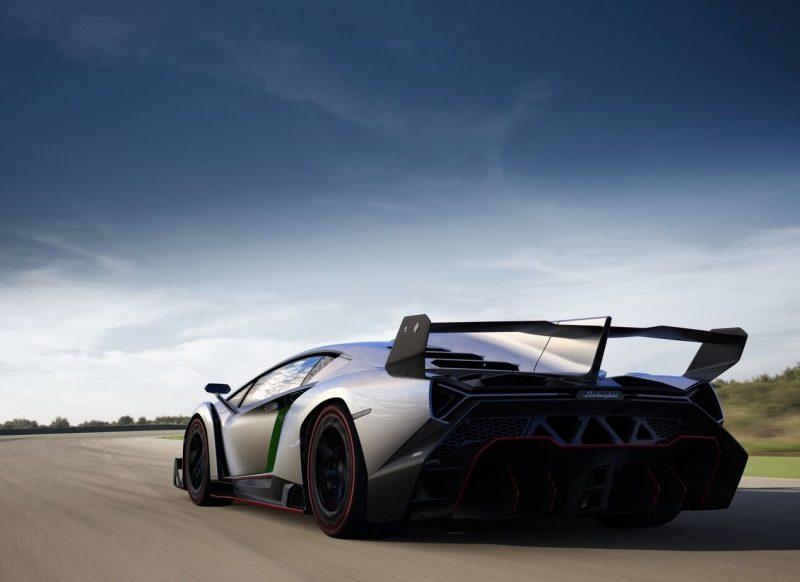 Sports car Lamborghini Veneno