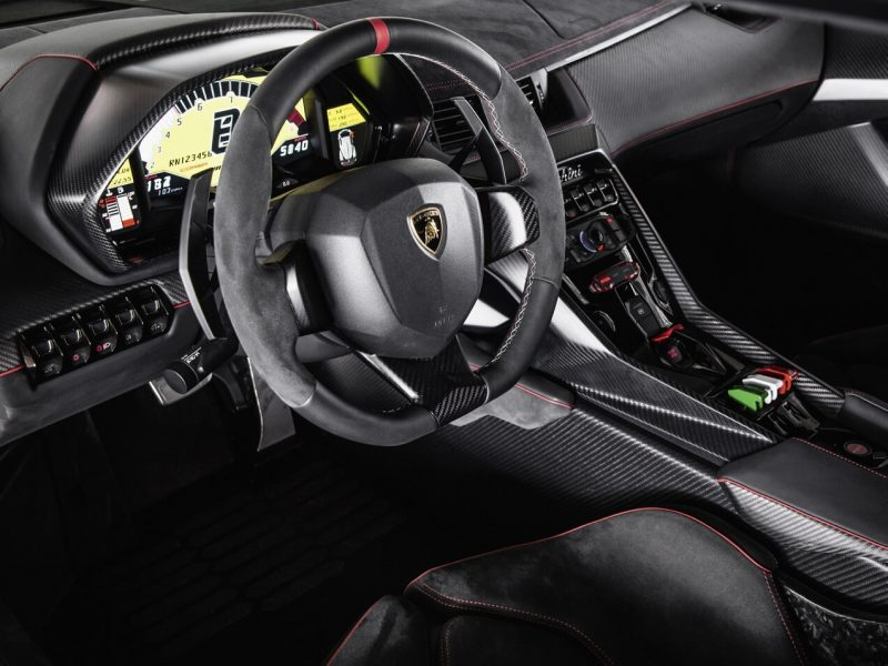 Steering wheel Lamborghini Veneno