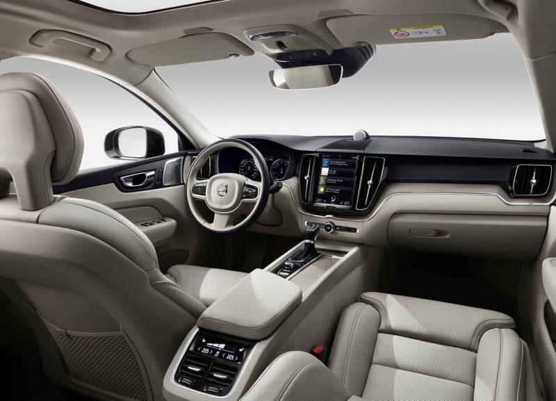 Interior Volvo XC60 2018