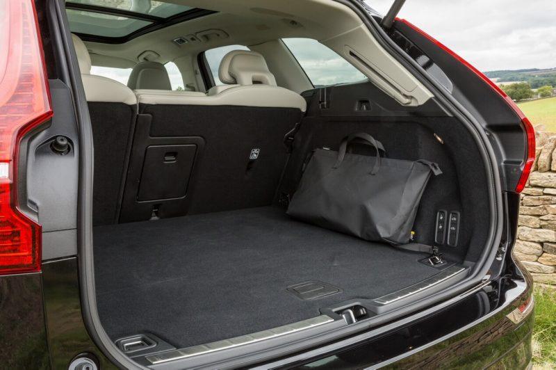 Volvo XC60 trunk