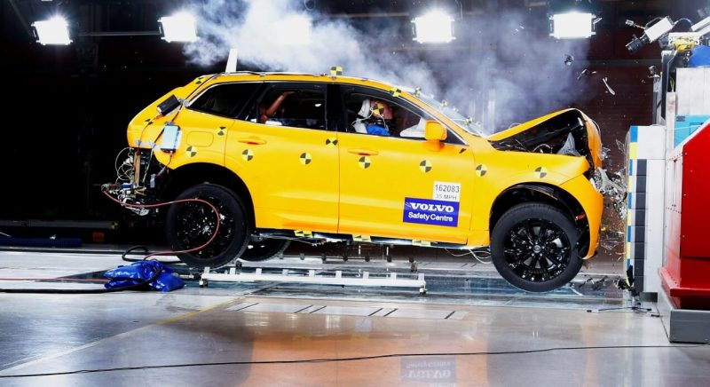 Crash test Volvo XC60