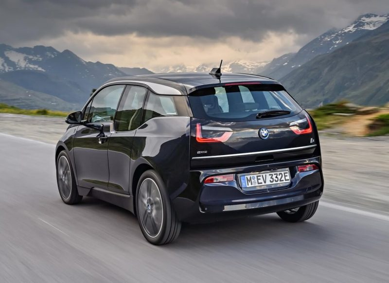 Photo of the updated BMW i3