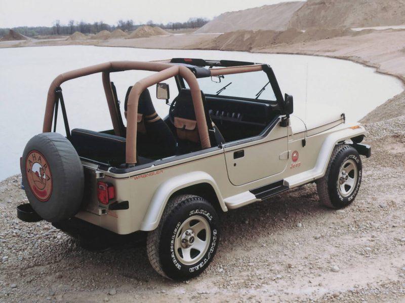 Car Jeep Wrangler Sahara (YJ)