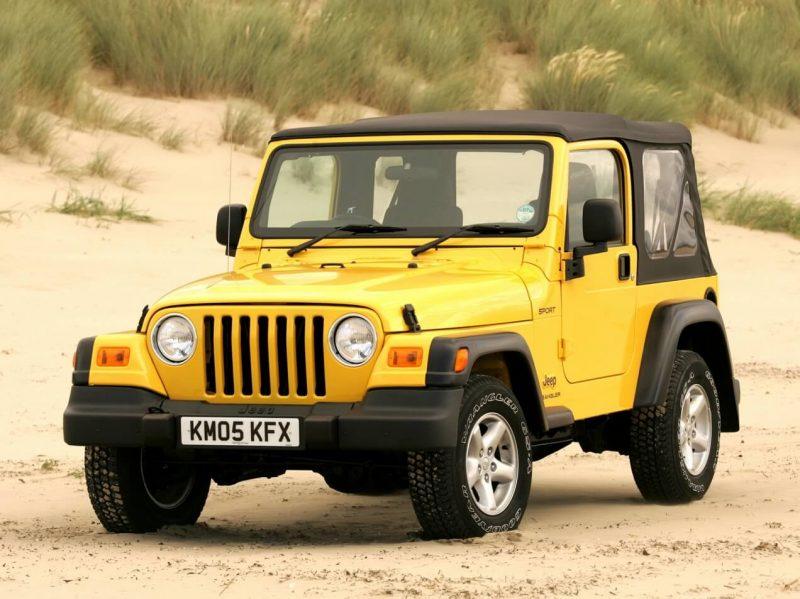 Auto Jeep Wrangler (TJ)