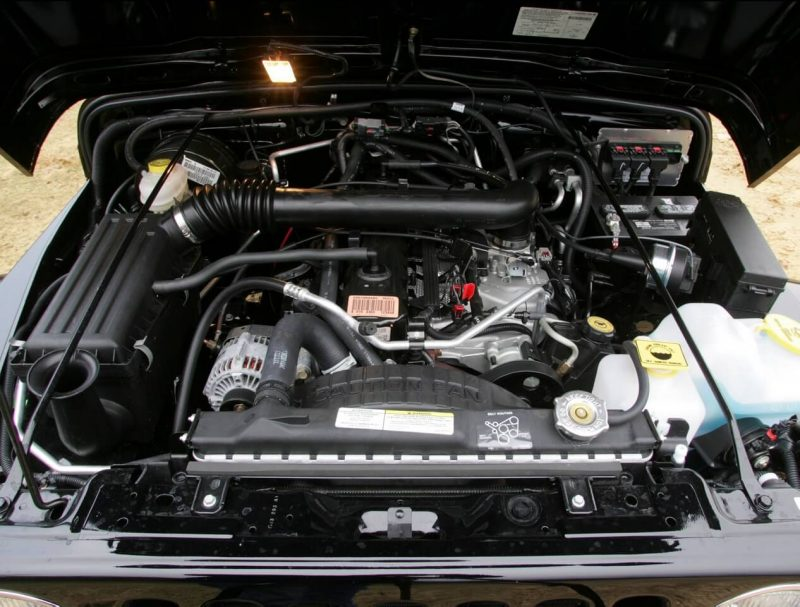 Jeep Wrangler engine