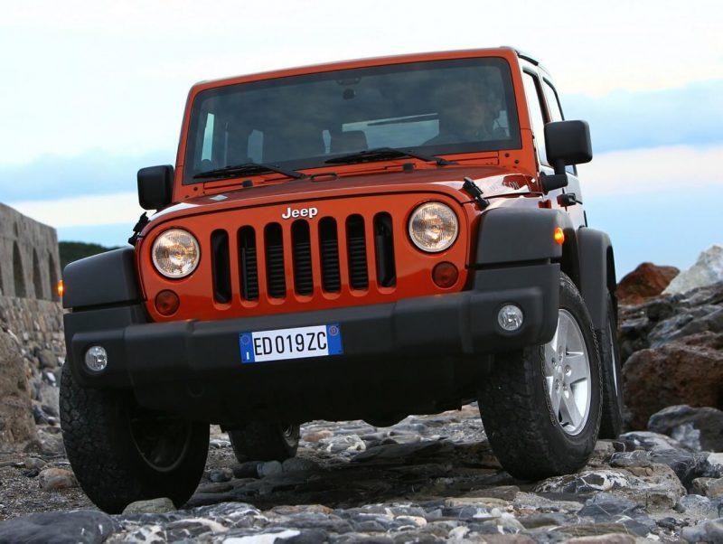 Auto Jeep Wrangler Rubicon