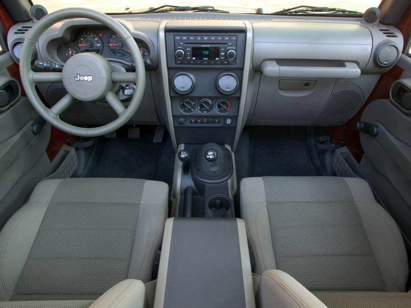 Salon of Jeep Wrangler III