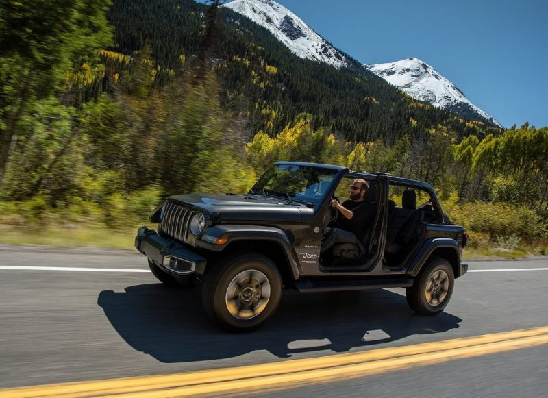 Photo of the new Jeep Wrangler IV