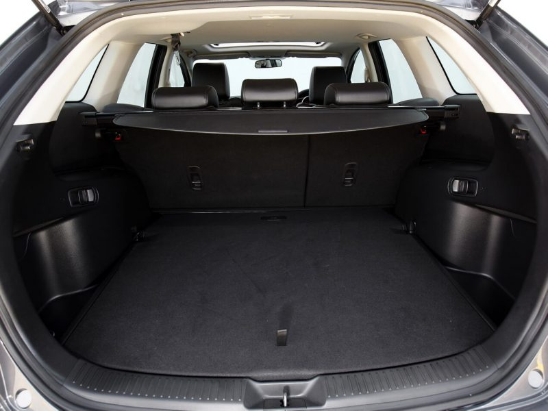 The trunk of the Mazda CX-7