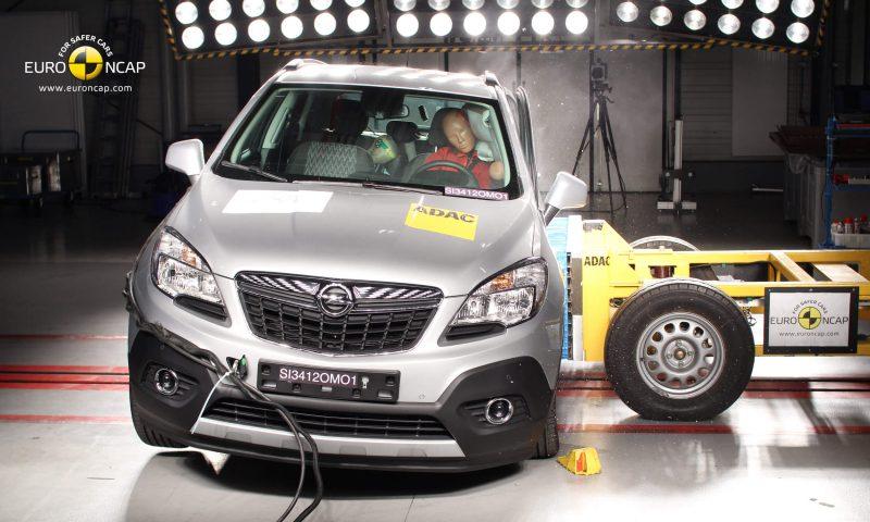 Opel Mokka Crush Test