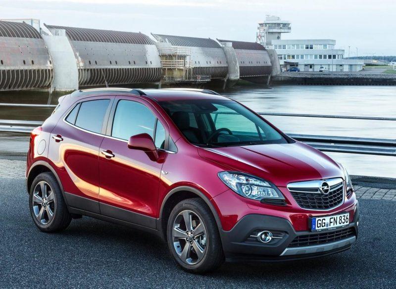 Opel Mokka crossover photo