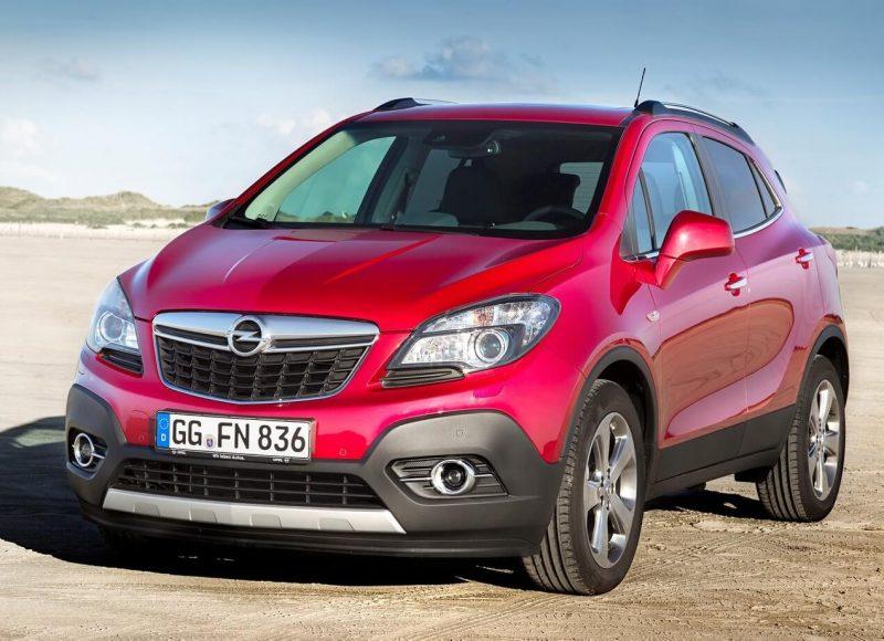 Front view Opel Mokka