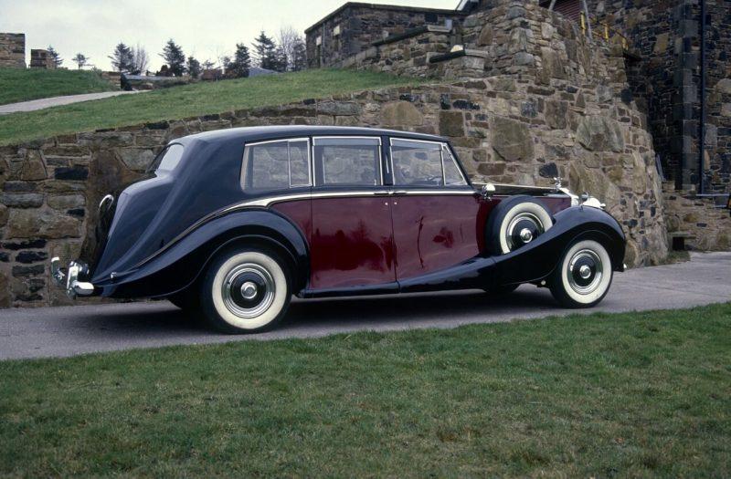 Side View Rolls-Royce Phantom IV