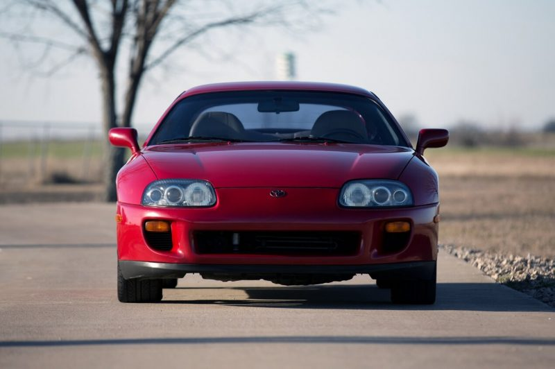 Front view of Supra MK IV