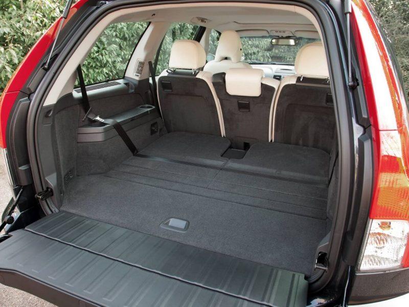 Luggage compartment Volvo XC90