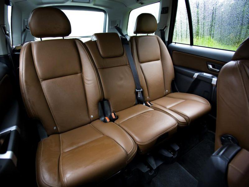 Second row of Volvo XC90 seats