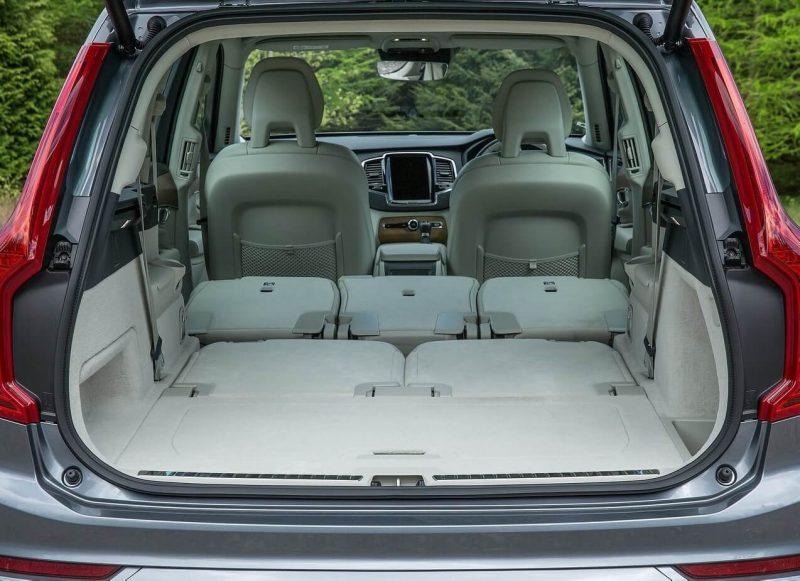 Luggage compartment Volvo XC90 II