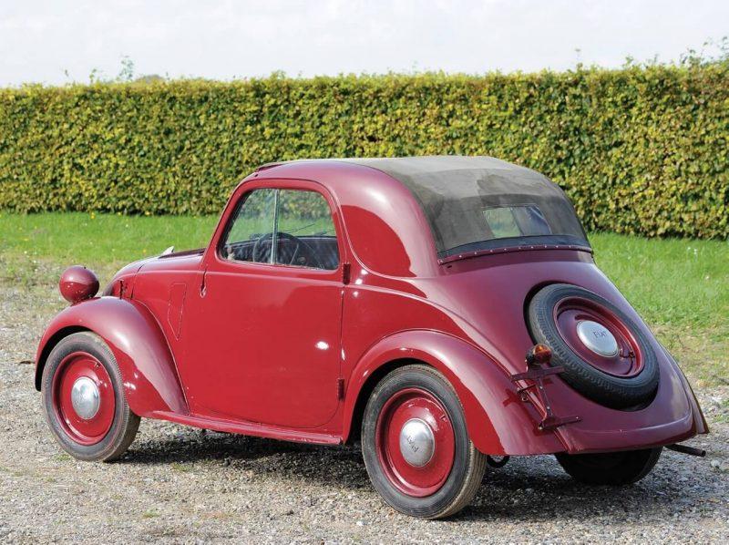 Fiat Topolino rear view