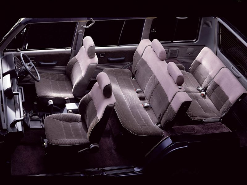 Salon of Mitsubishi Pajero High Roof