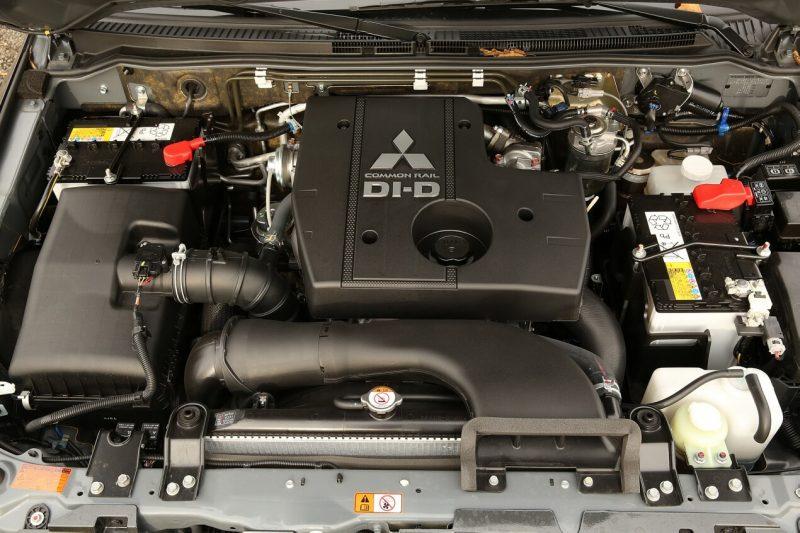 Mitsubishi Pajero 4 engine