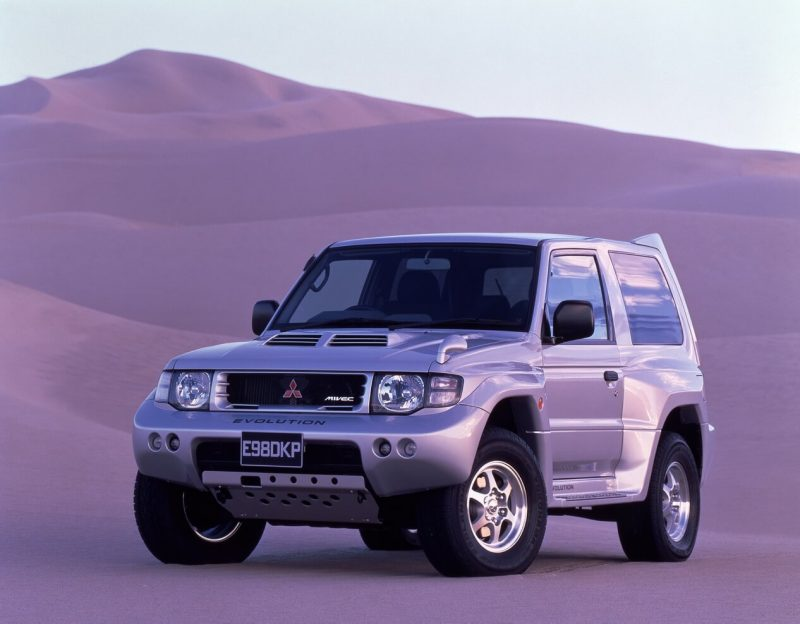 Photo by Mitsubishi Pajero Evolution