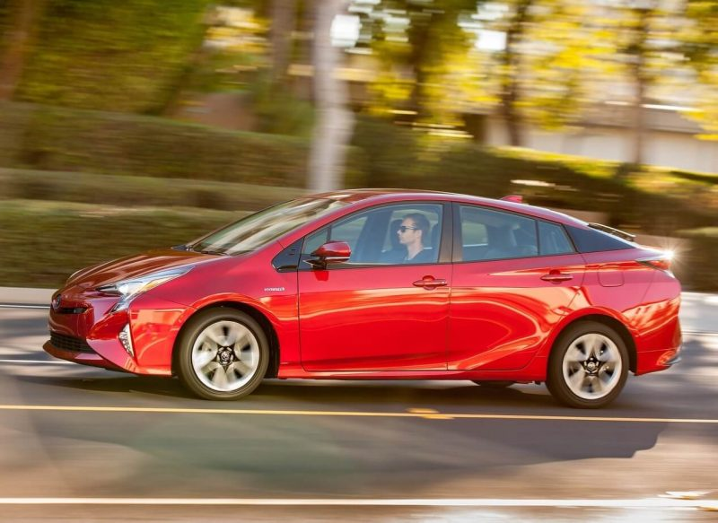 Toyota Prius 4 side view
