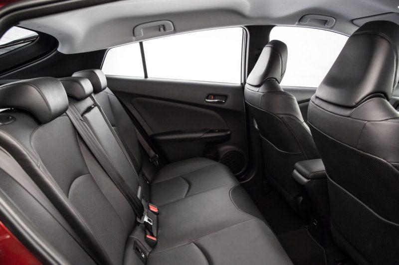 Toyota Prius IV rear seats
