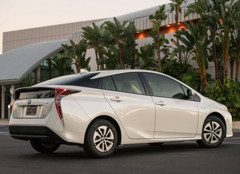 Photo of the new Toyota Prius
