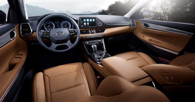 Interior Hyundai Grandeur (IG)