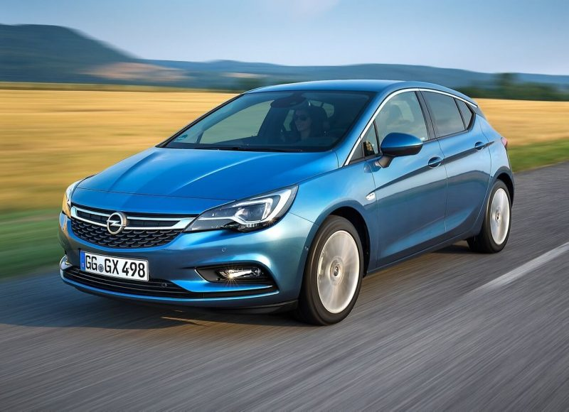 Photo of new Opel Astra