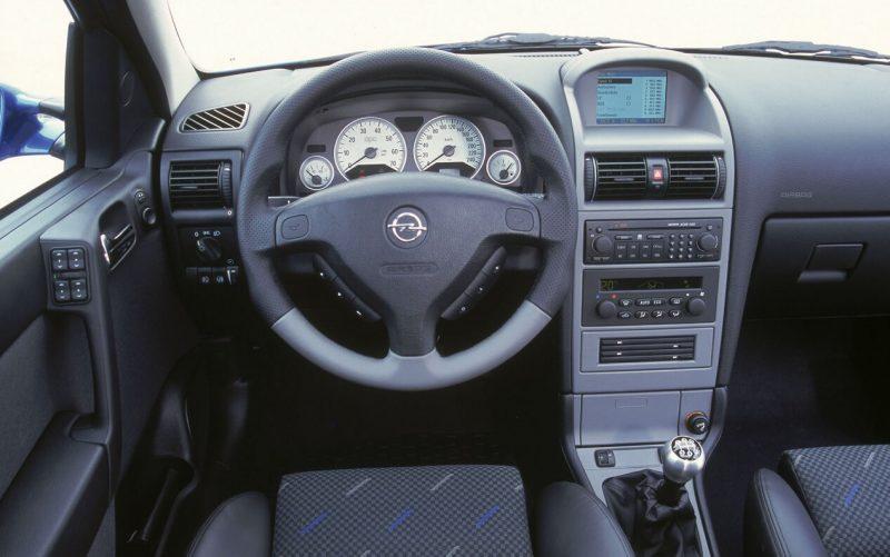 Interior Opel Astra (G)