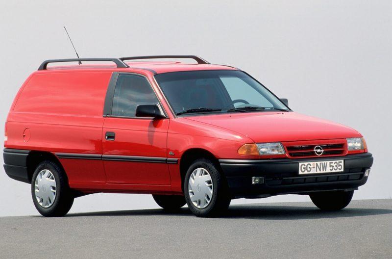 Opel Astra 3-door station wagon