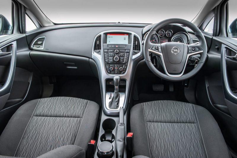 Salon of Opel Astra J