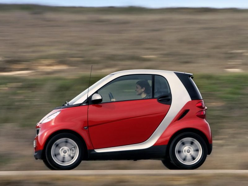 Side view Smart ForTwo II