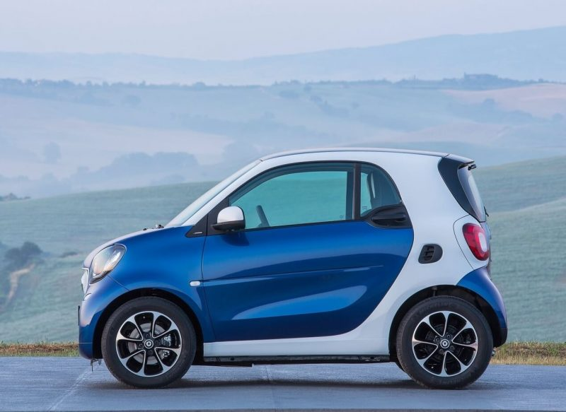 Smart ForTwo III side view