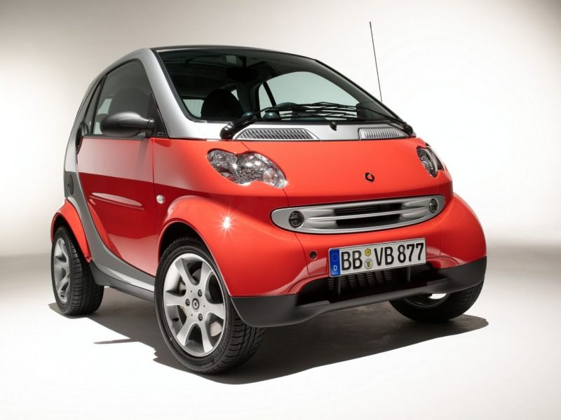Smart ForTwo 1 front view