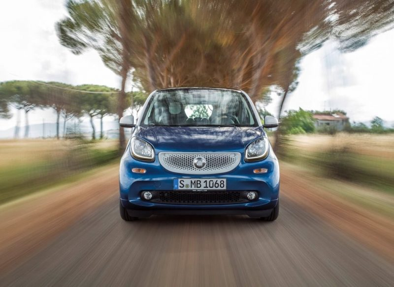 Front view Smart ForTwo III