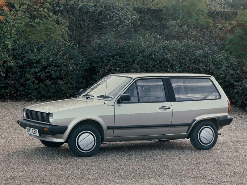 3-door Volkswagen Polo II hatchback