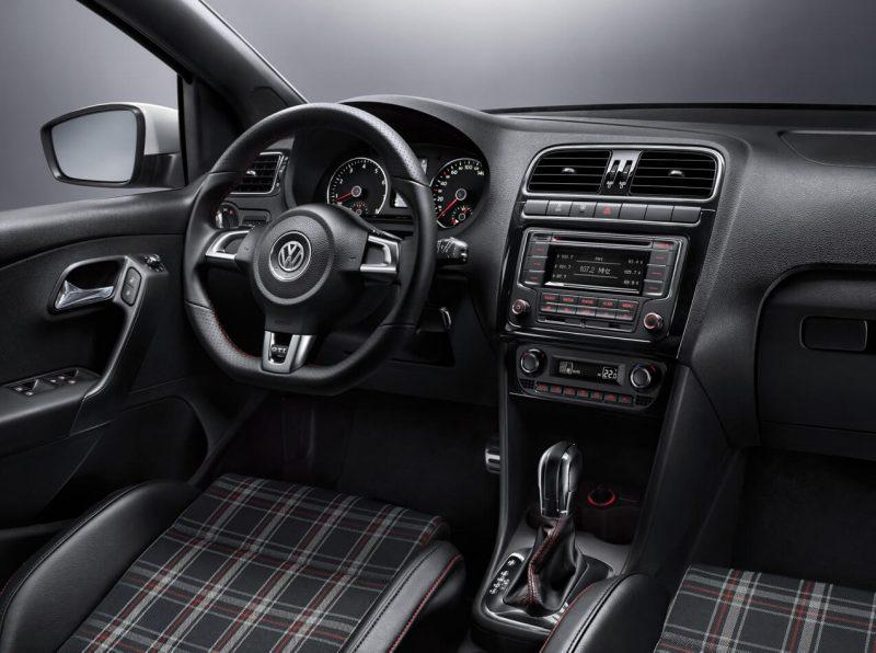Interior of Volkswagen Polo V