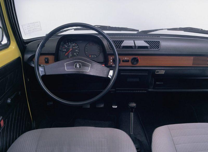 Interior of Volkswagen Polo 1