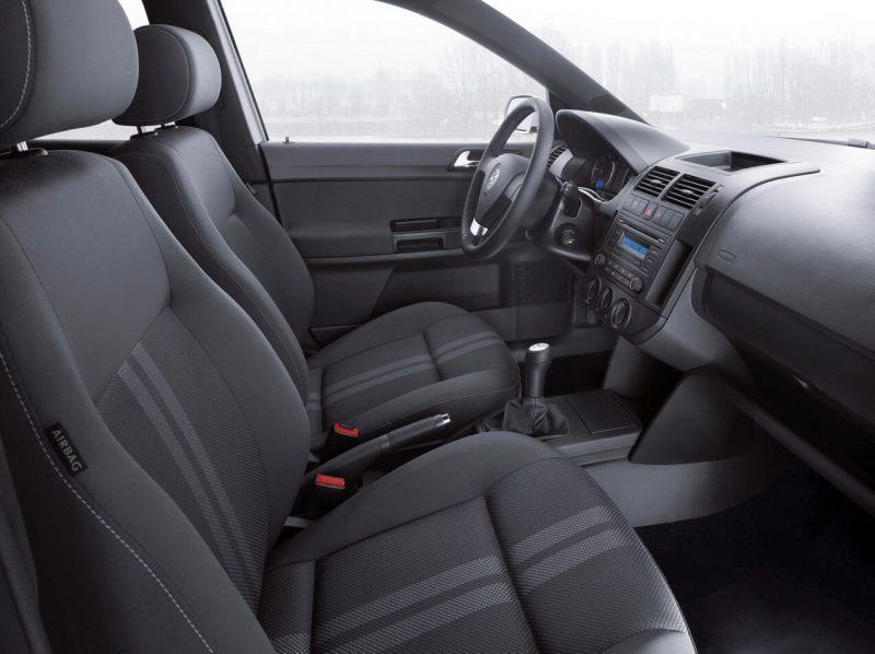 Interior of Volkswagen Polo IV