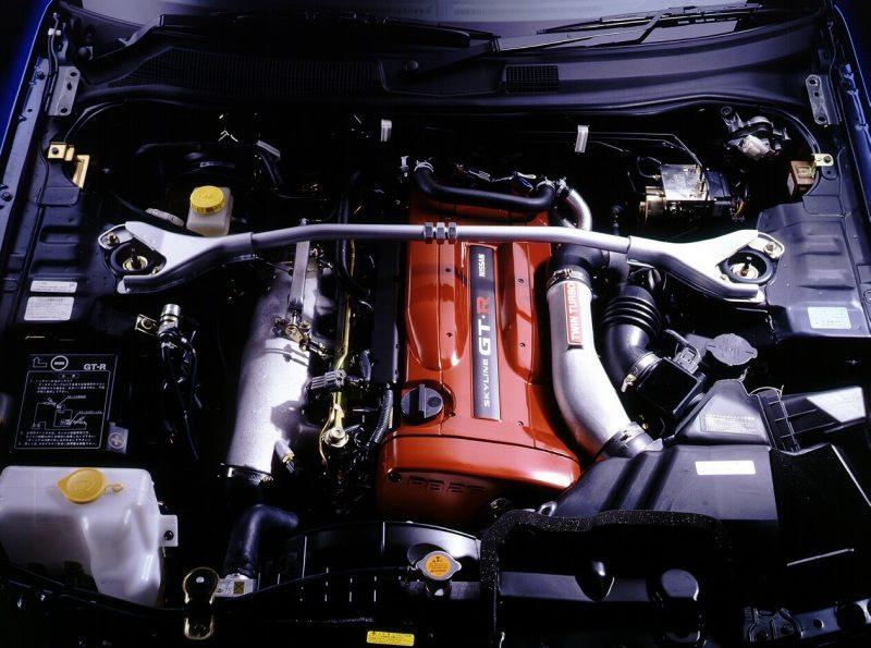 Nissan Skyline GT-R engine