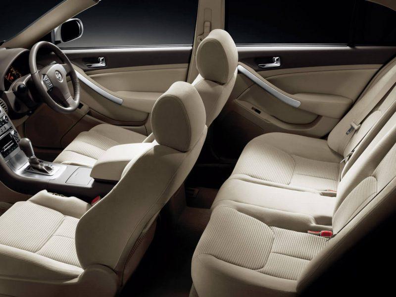 Interior photo of Nissan Skyline (V35)