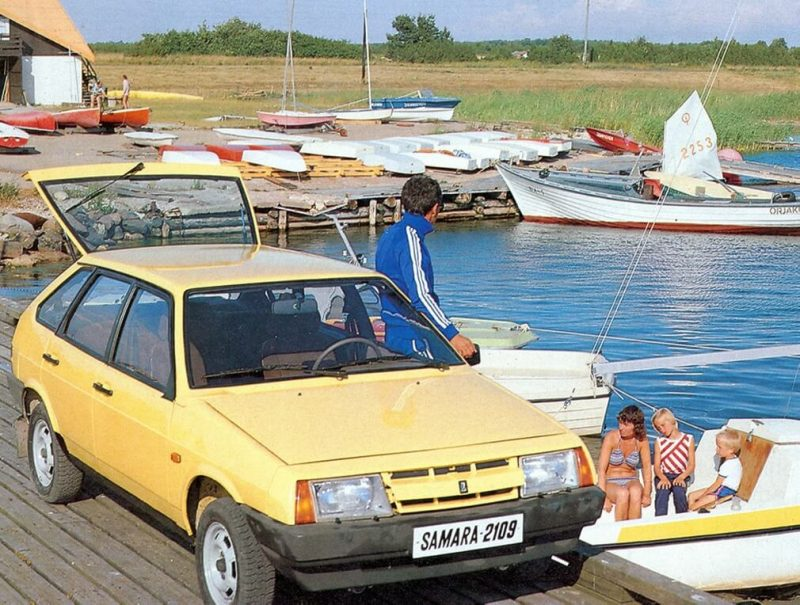 VAZ-2109 car