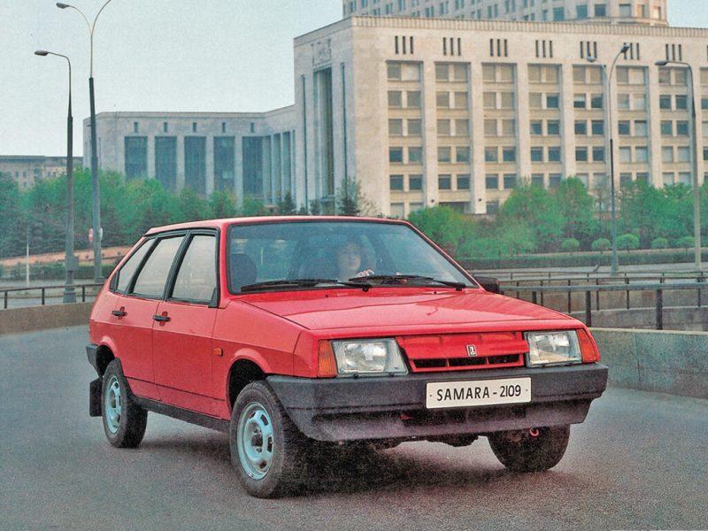 Front view VAZ-2109