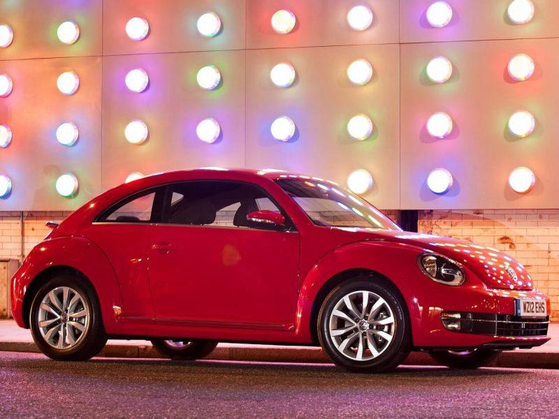 Side view of VW Beetle III