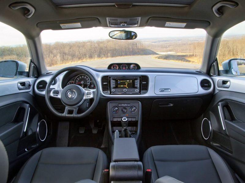 Interior of Volkswagen Beetle 3
