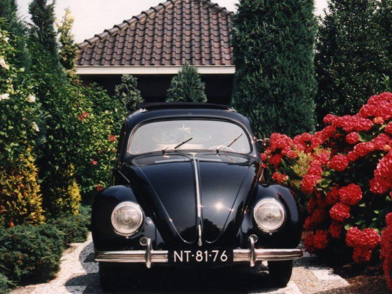 Front view of Volkswagen Käfer