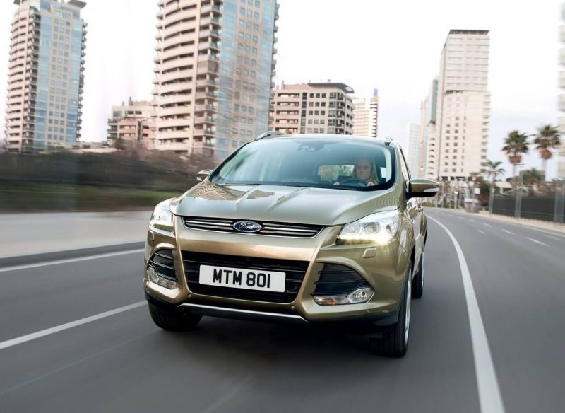 Front view of Ford Kuga II